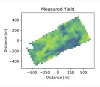 Wheat yield prediction with uncertainty estimates