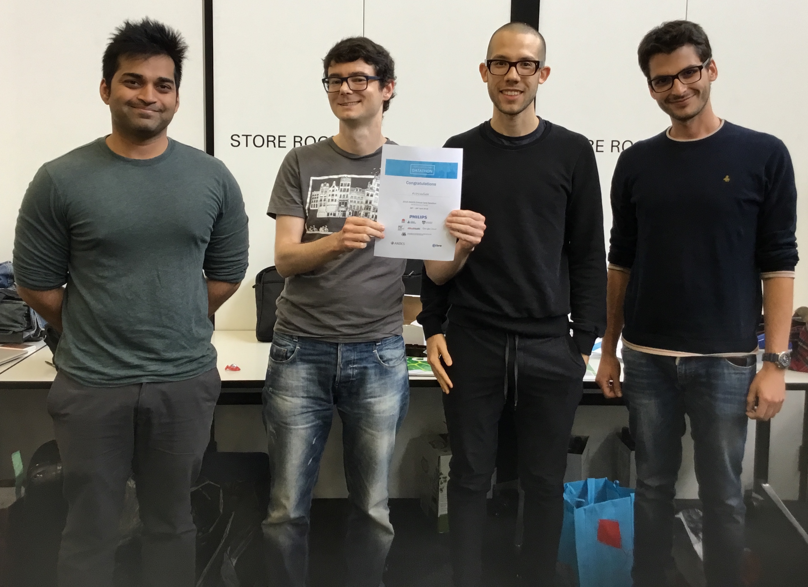 SIH research engineer wins ANZICS Datathon